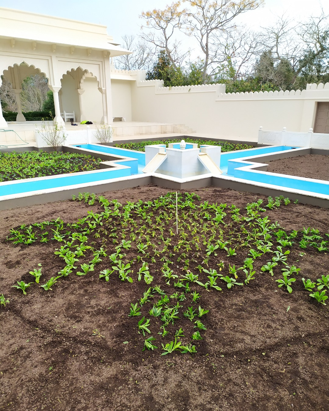 The Indian Char Bagh Garden being re-planted at Hamilton Gardens