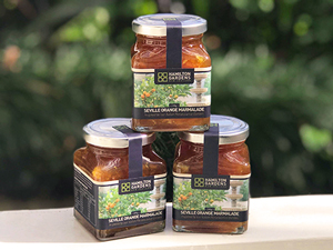 Locally made Hamilton Gardens preserves