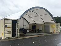New Wintec shed